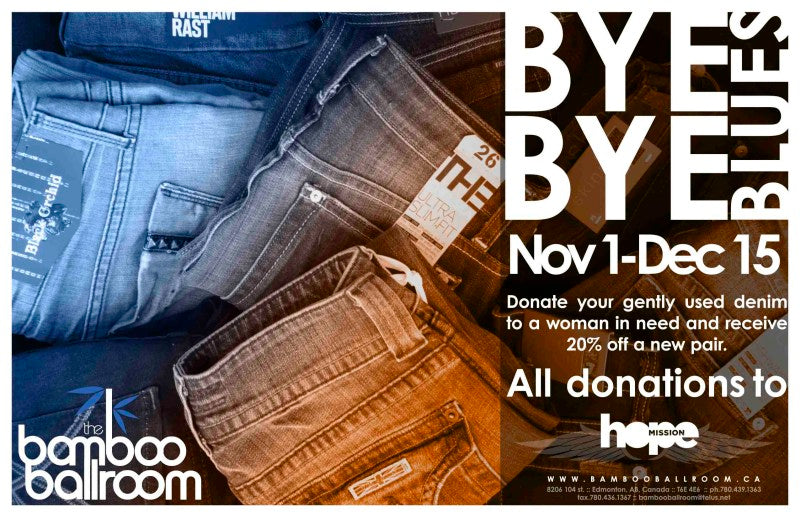 Bamboo Ballroom donation drive for Hope Mission, Edmonton