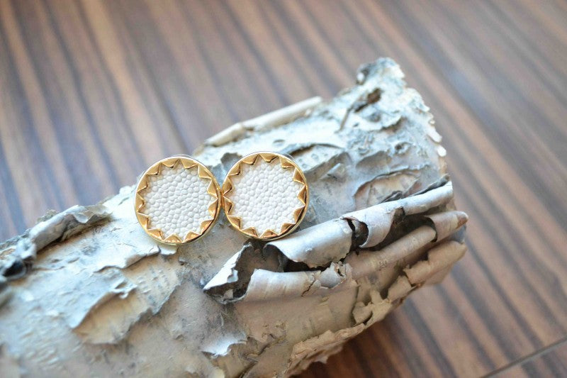 """House of Harlow 1960 sunburst studs from Bamboo Ballroom in Edmonton, Alberta, Canada"""