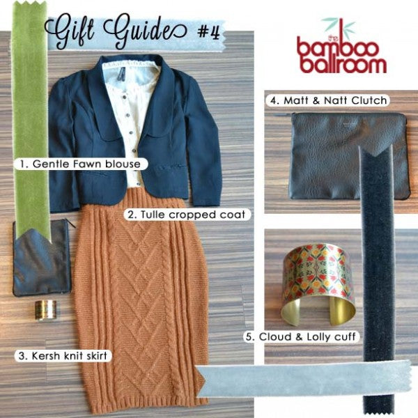 """Holiday gift guide from Bamboo Ballroom in Edmonton,Alberta,Canada"""