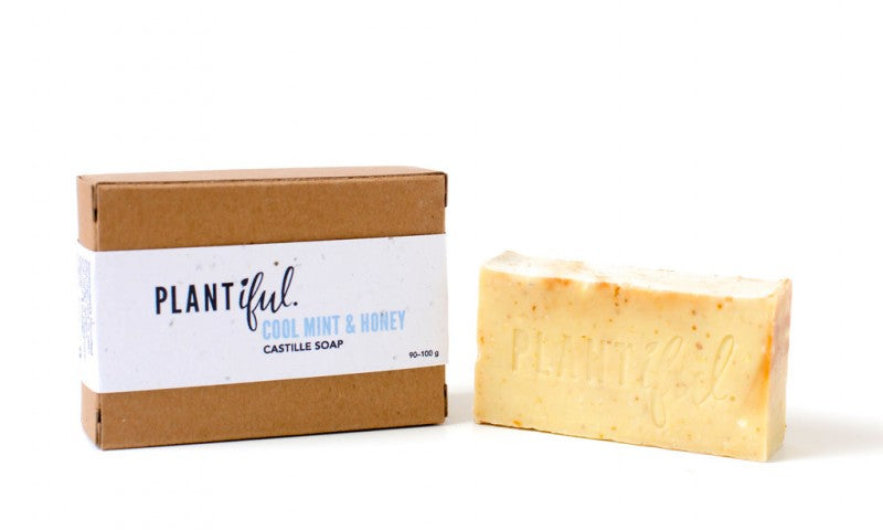 plantiful all natural cool mint and honey