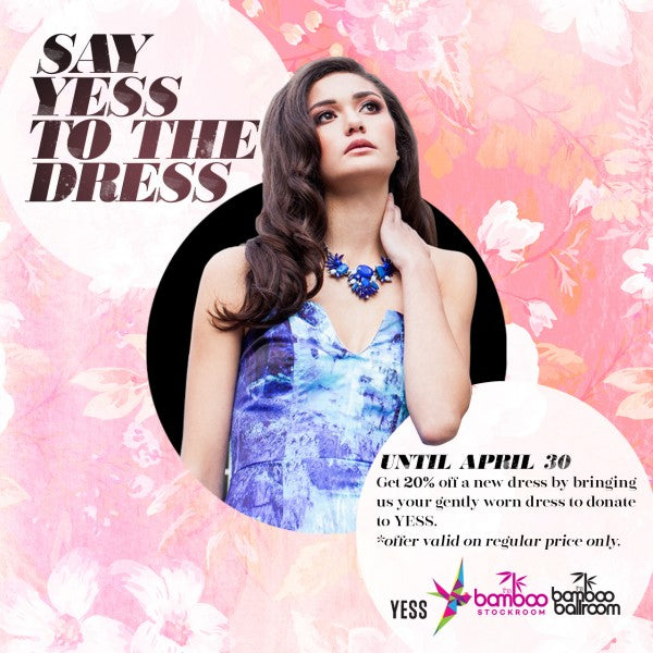 YESS Spring dress donation drive