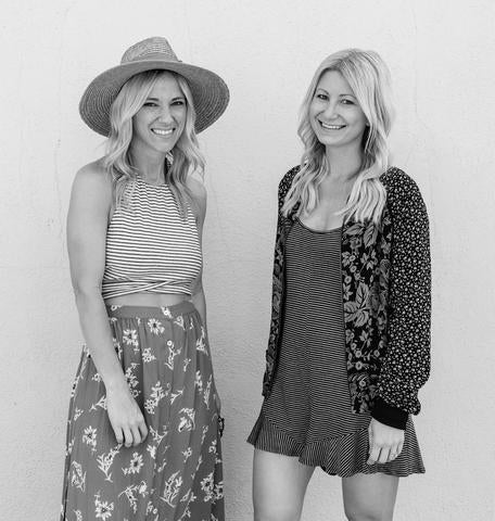 Designers of Saltwater Luxe: Kristy and Christa