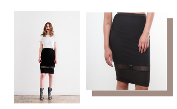 Suka Mesh Skirt -- Click to shop online!