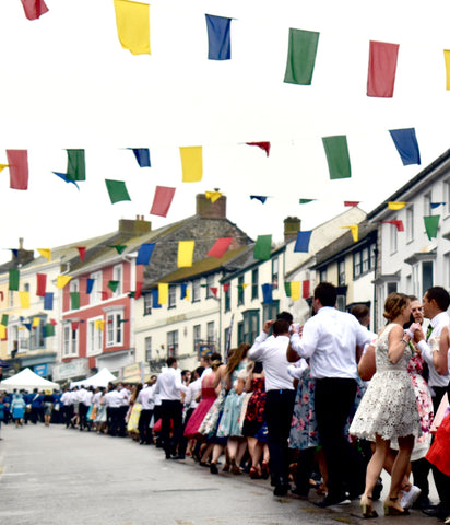 Dancing up Coinagehall Street, Helston's Flora Dance