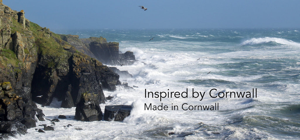 Inspired by Cornwall, made in Cornwall