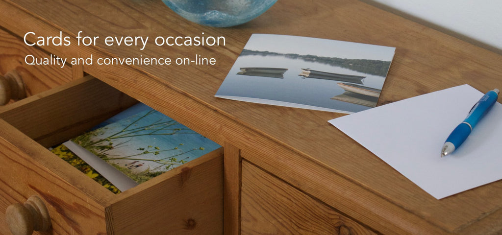 Cards for every occasion, quality and convenience on-line