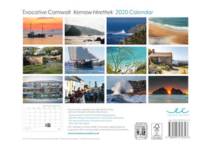 * NEW - Evocative Cornwall Calendar 2020