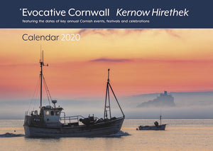 2020 Evocative Cornwall calendar - front cover Simon Maycock