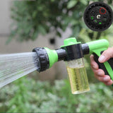 Hose Watering Gun Sprayer Car Cleaning Foam Spray Garden Watering Tools - ShopGhDs