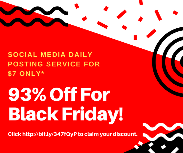 93% OFF BLACK FRIDAY SALE. LIMITED SPOTS AVAILABLE
