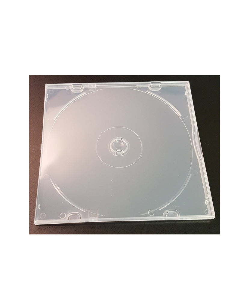 5MM SUPER THIN POLY JEWEL BOX  CLEAR - 100 PACK - Churchavs.com