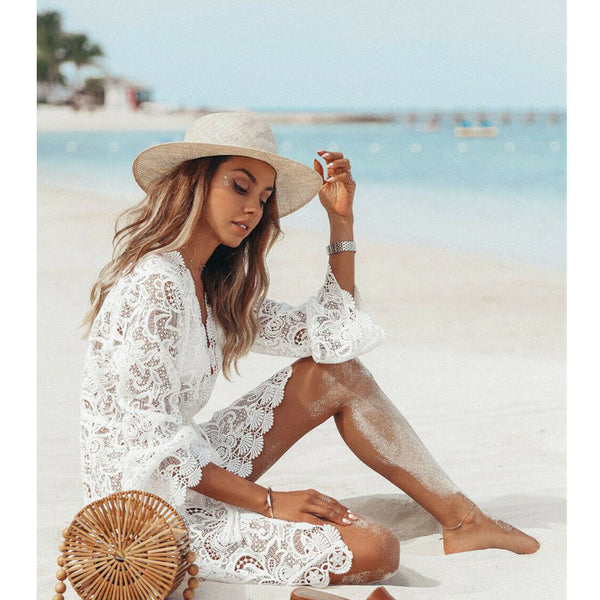Lace Bikini Cover-up