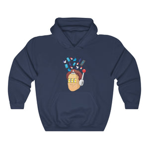 Tech Minded Heavy Blend™ Hooded Sweatshirt