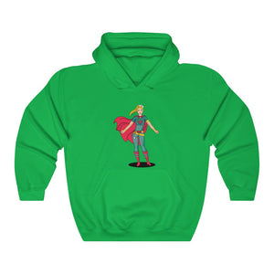 Super Woman Hooded Sweatshirt