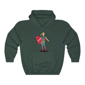 Best Super Woman Hooded Sweatshirt