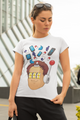 Bruce Art Two Women T-shirt