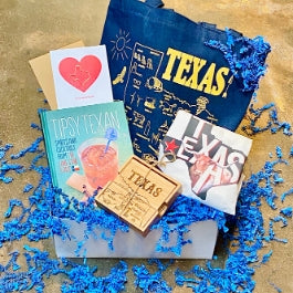Texas Themed Gift Box