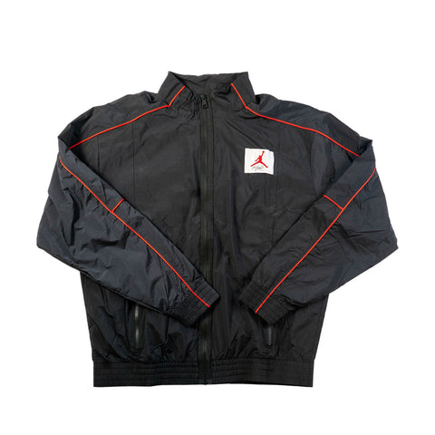 Jordan Flight Men's Warm-Up Jacket (Black/Red)
