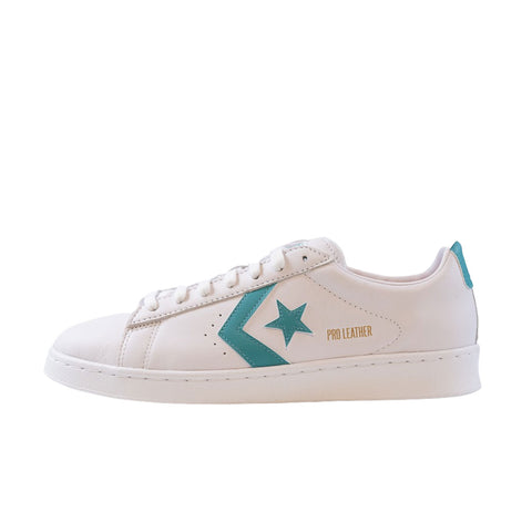 Converse Pro Leather Ox (White/Harbor Teal/White)