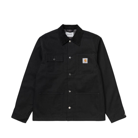 Carhartt WIP Michigan Chore Coat (Black Rinsed)