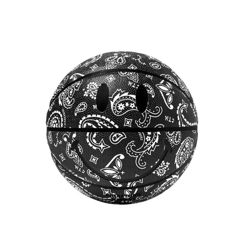 Chinatown Market Smiley Paisley Basketball (Black)