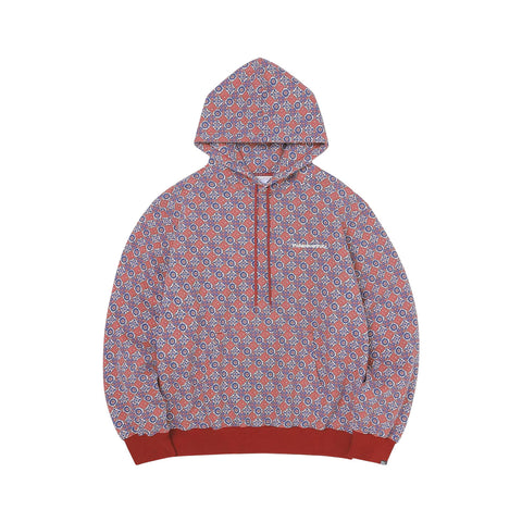 Thisisneverthat The Hooded Sweatshirt  (Burgandy/Navy)