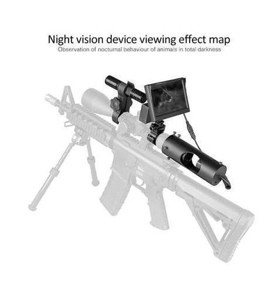 Clear Vision Scope™ - Digital Night Vision IR Optics Night Vision Secure Lyfe