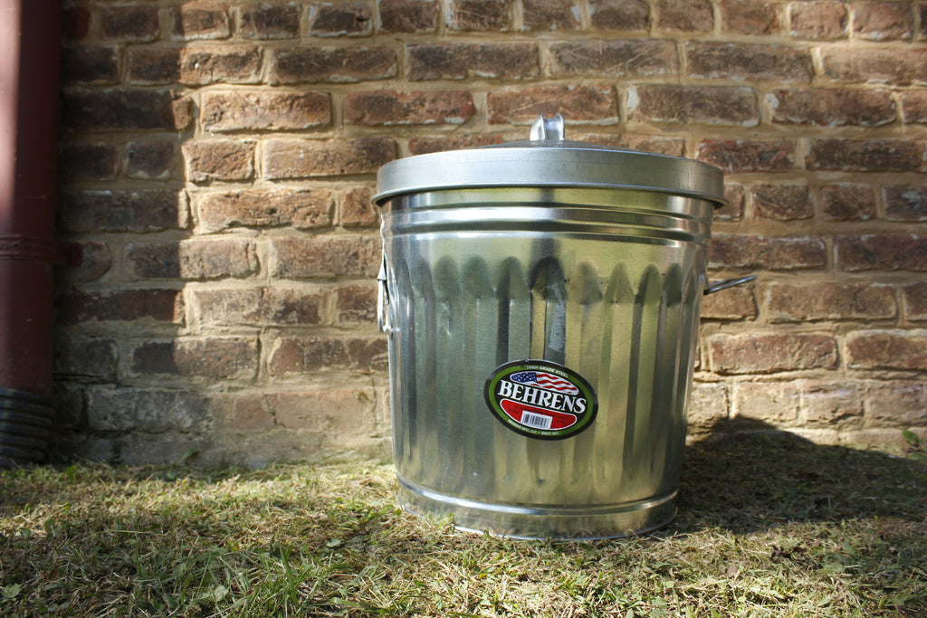 ZZZ10 Gallon Galvanized Steel Can w/ Locking Lid
