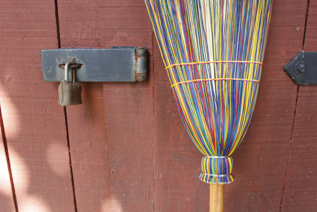 Rainbow Cabin Broom