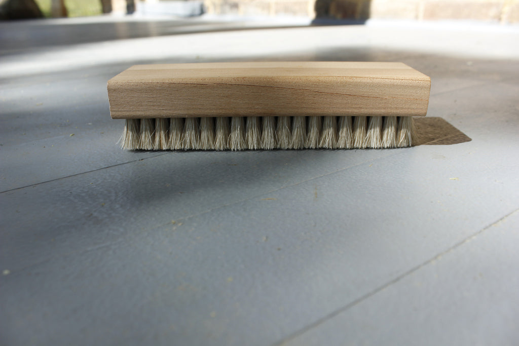 Horse Hair Scrub Brush