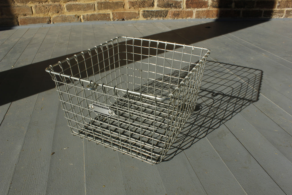 "9"" x 20"" Wire Basket"
