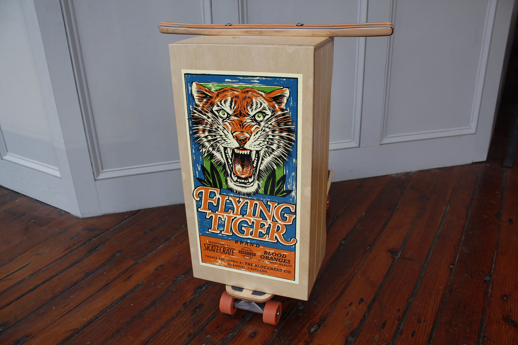 Flying Tiger Skate Crate