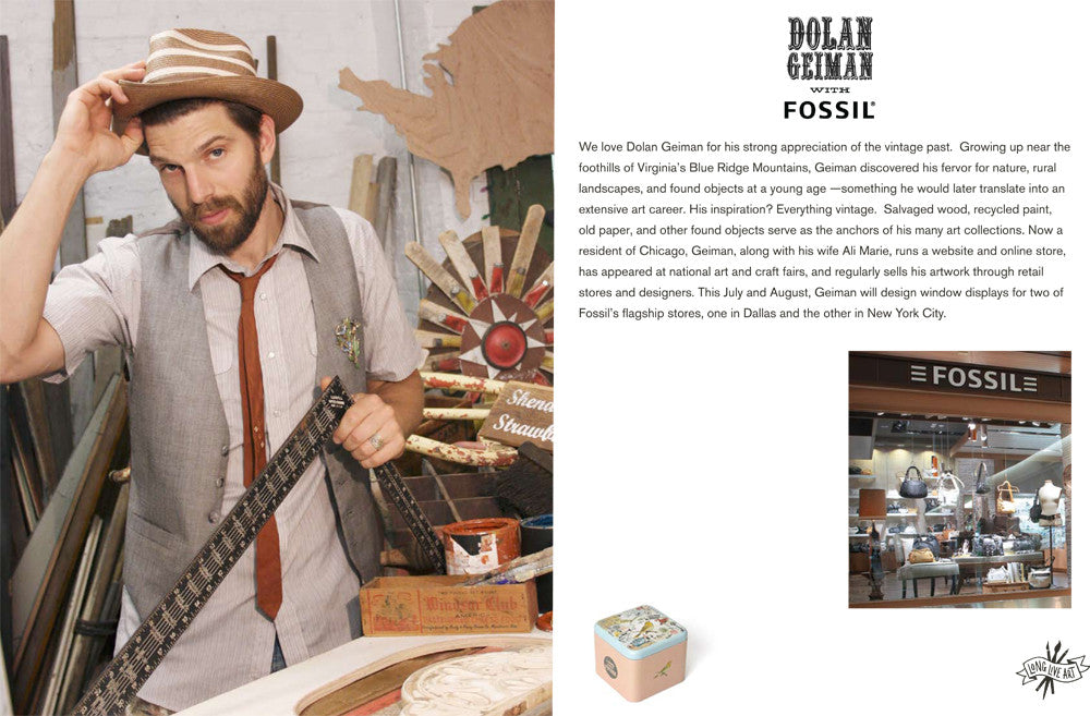 Fossil Long Live Vintage Campaign