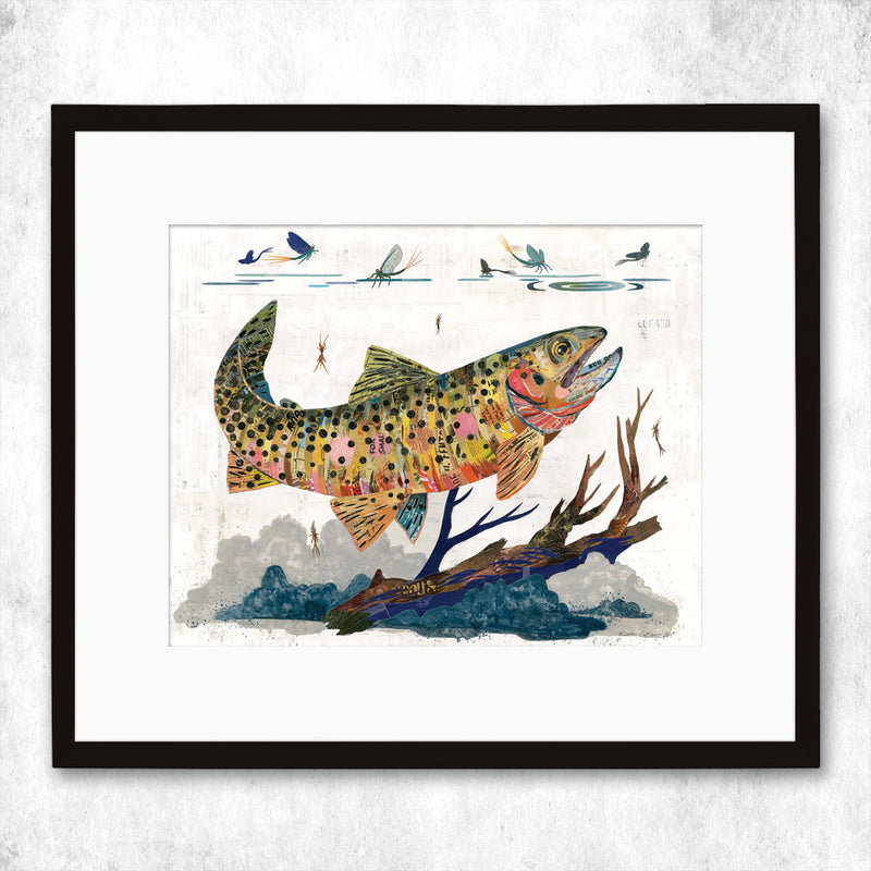main image for WHSL - Trout, Cutthroat Art Print