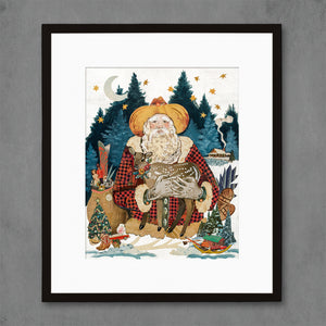 thumbnail for 2020 Santa Claus Art Print