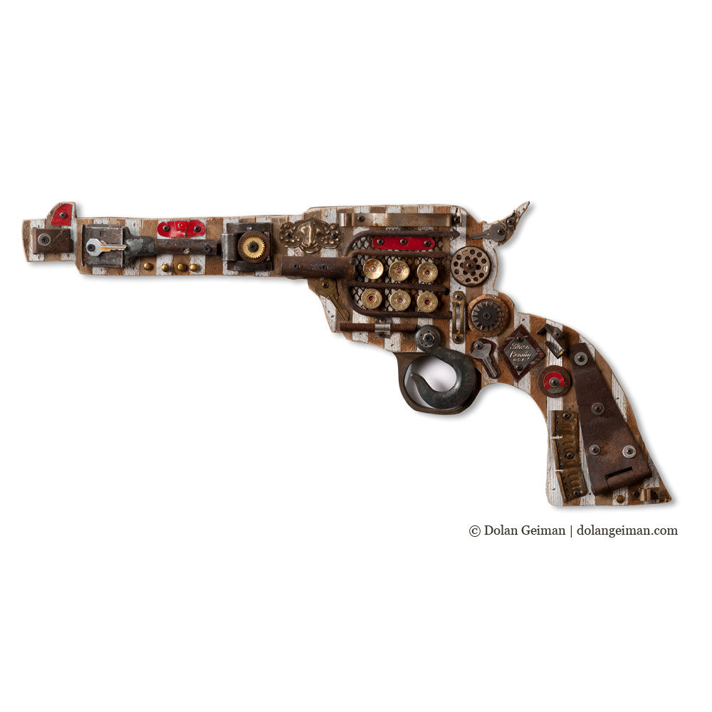 Gun Collection Wall Art Assemblage