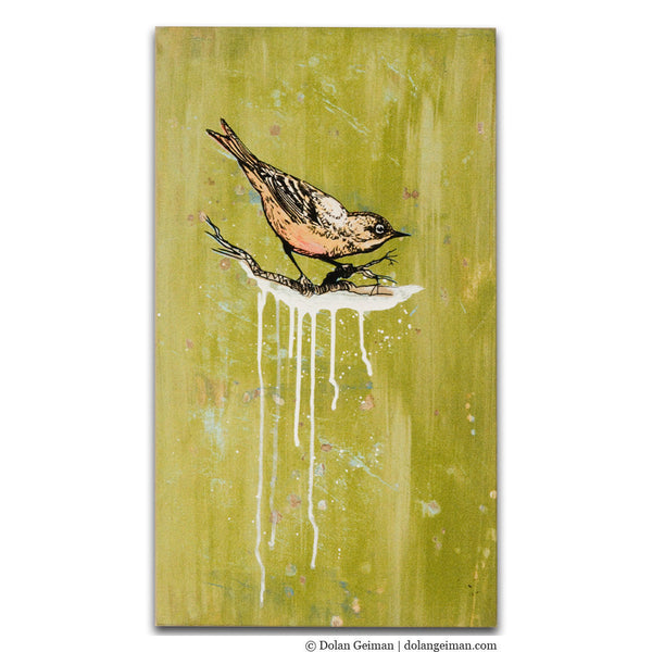 Tye River Road Bird Art Painting