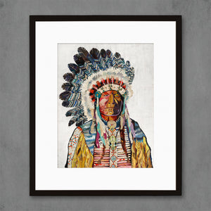 thumbnail for American Heritage Chief Art Print