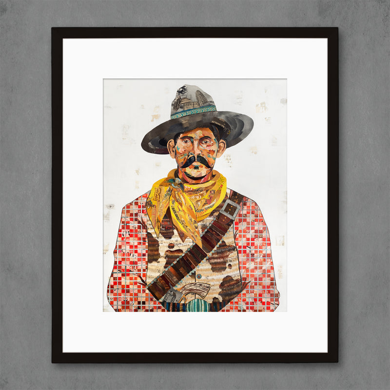 main image for Cowboy (Red) Art Print