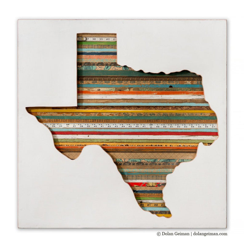 main image for Texas Silhouette Original Mixed Media