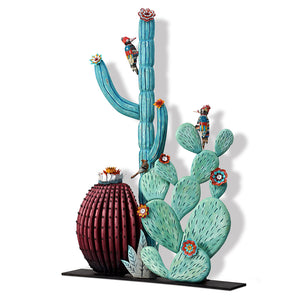 thumbnail for Large-Scale 3D Cactus Sculpture