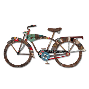 thumbnail for Industrial Bike Wall Art Sculpture
