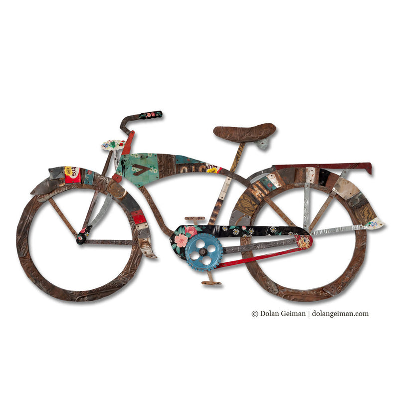 main image for Vintage Bicycle Wall Sculpture in His or Hers Style