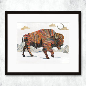 thumbnail for WHSL - Bison Rest Not Western Herald Art Print