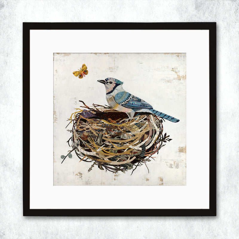 main image for WHSL - Bluejay Art Print