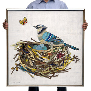thumbnail for Blue Jay in the Nest (Metal)