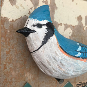 thumbnail for Small Works Event - Bluejay Wall Hanging - Original by Dolan Geiman