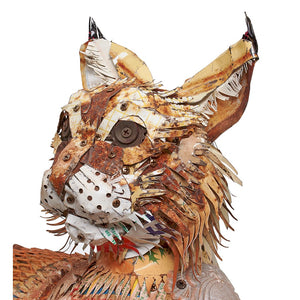 thumbnail for Bobcat Sculpture