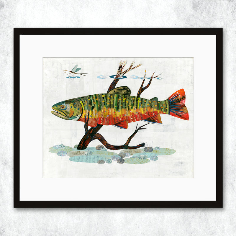 main image for WHSL - Trout, Brook Art Print