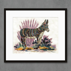 thumbnail for Burro Donkey II Art Print